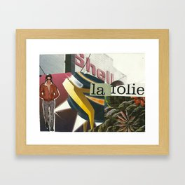 La Folie Framed Art Print