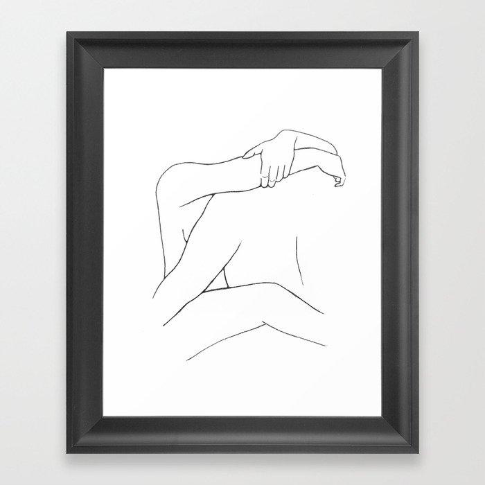 lovers series 5 Framed Art Print