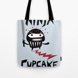 Ninja Cupcake Tote Bag