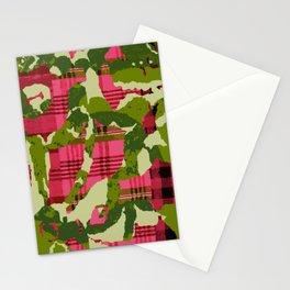 batik screen Stationery Cards