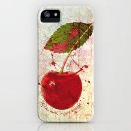 Cherry Bomb - The Runaways iPhone Case