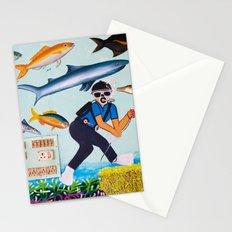Deep Sea Fishing Stationery Cards