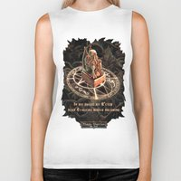 cthulhu Biker Tanks featuring Cthulhu by TheMagicWarrior