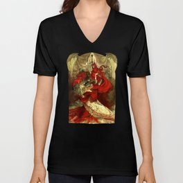 Masque of the Red Death Unisex V-Neck