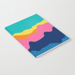 Over The Sunset Mountains III Notebook