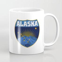 Alaska Badge Coffee Mug