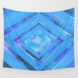 Jet Blue Wall Tapestry