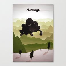 Stormeye Canvas Print