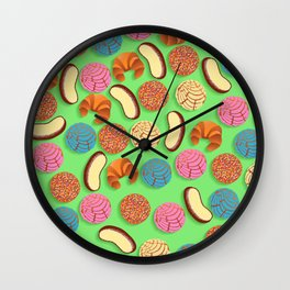 Pan Mexicano Wall Clock