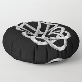 Ouroboros Floor Pillow