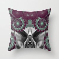 geode Throw Pillows featuring Geode 5 by michiko_design