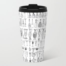 historic vessel pattern Travel Mug