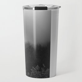 Survival on Brushy Mountain (Black & White) Travel Mug