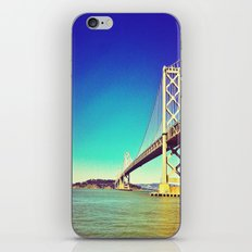 Bay Bridge  iPhone & iPod Skin