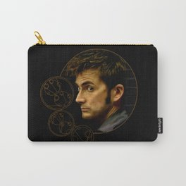 The Tenth Doctor with Gallifreyan Carry-All Pouch