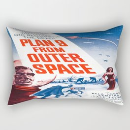 Vintage poster - Plan 9 from Outer Space Rectangular Pillow