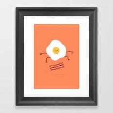 Easy Over Framed Art Print