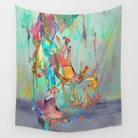 archan nair Wall Tapestries featuring Soulipsism by Archan Nair