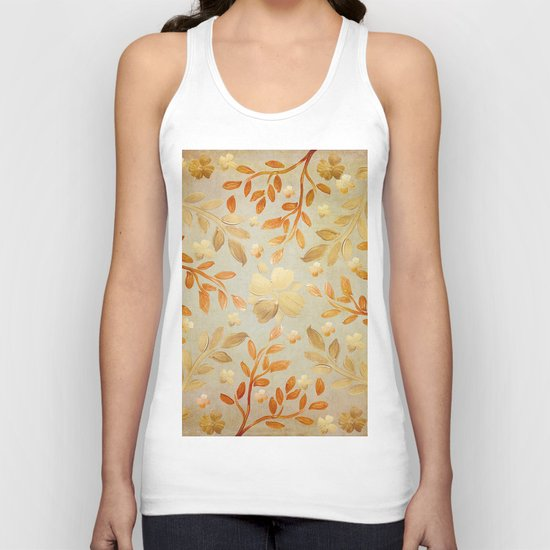 Golden Autumn Unisex Tank Top