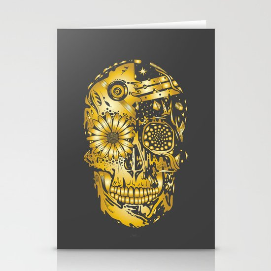C3P GOLD Stationery Cards