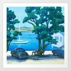 Of Boats and Summer Art Print