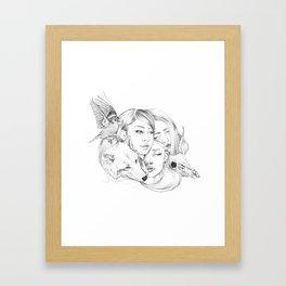 Inside us III Framed Art Print