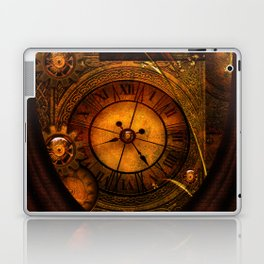 Awesome noble steampunk design Laptop & iPad Skin