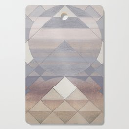 Pyramid Sun Fog Cutting Board