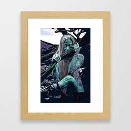 Witching hour (Edit 1) Framed Art Print