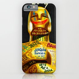 Oscar, why so serious? iPhone Case