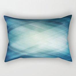 Amazing Abstract Triangular Galaxy - Visual Art V.6 Rectangular Pillow