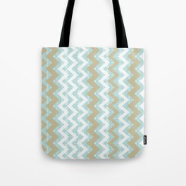 Chevrons and Dots Tote Bag