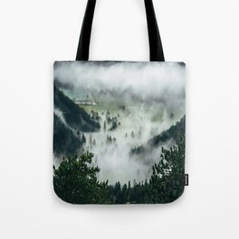 The Rolling Gray Tote Bag