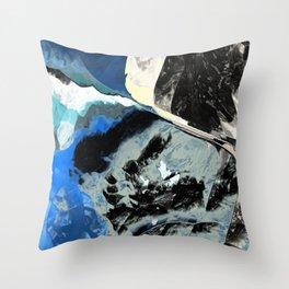 Restless Beach Throw Pillow