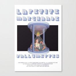 La Petite Marchande d'Allumettes Canvas Print