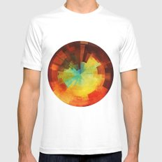 Time Mens Fitted Tee MEDIUM White