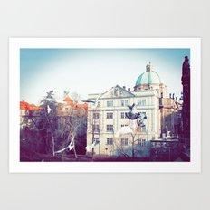 Prague 02 Art Print