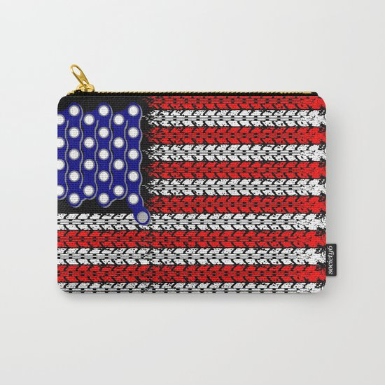 Bike USA Flag Carry-All Pouch