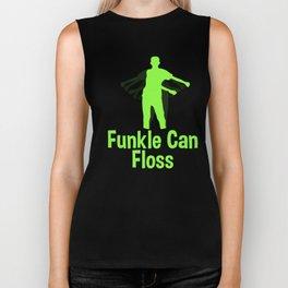 Flossing Dance Craze Gift for Uncle Funcles - Latest School Kids Dancing Craze Biker Tank