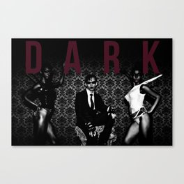 DARK I Canvas Print