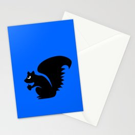 Angry Animals: Squirrel Stationery Cards