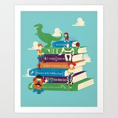 Toy Stories Art Print
