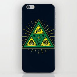 The Tribal Triforce iPhone Skin