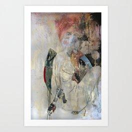 Women who run with wolves I. Baba Jaga Art Print