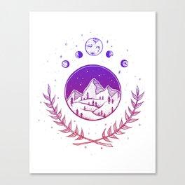 Celestial - Darker palette Canvas Print
