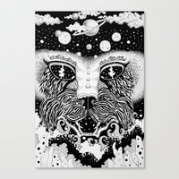 universe Canvas Prints featuring UNIVERSE by • PASXALY •