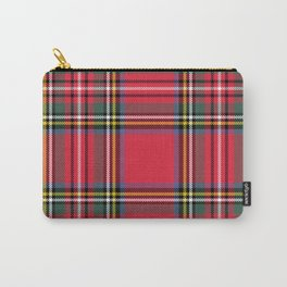 Red & Green Tartan Pattern Carry-All Pouch