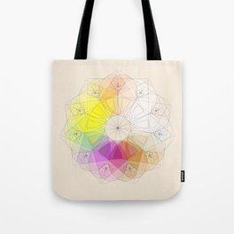 Soft Fibonacci 3 Tote Bag