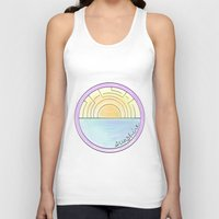 sunshine Tank Tops featuring Sunshine by Hope Palattella