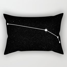 ARIES (BLACK & WHITE) Rectangular Pillow